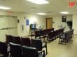 Waiting room in modular dental clinic