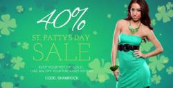 St. Patrick's Day Sale 2012