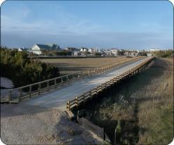 Bald head Island's Timber Bridge Completed