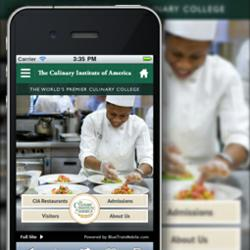 Mobile Website for Culinary Institute of America