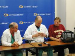 Sentara Heart Hospital, Michael McGrath MD, John Martino, SynCardia, Total Artificial Heart, Freedom driver, heart failure, donor heart, heart transplant
