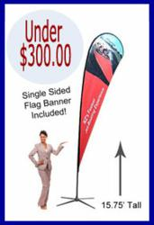 Printed Flag Banners with Stand