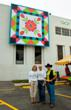 In 2011, AccuQuilt's winning barn quilt design was created by Candace Door.