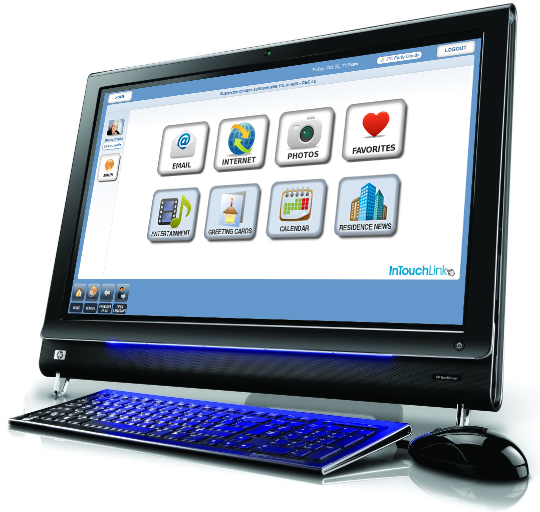 intouchlink software for seniors and senior living communities wins new product  u0026 technology award