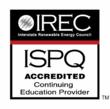 Accredited by IREC and ISPQ