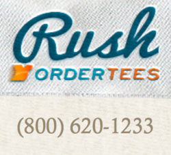 Rush order tees launches new youtube channel for Rush custom t shirts