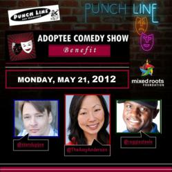 Adoptee Comedy Show Benefit