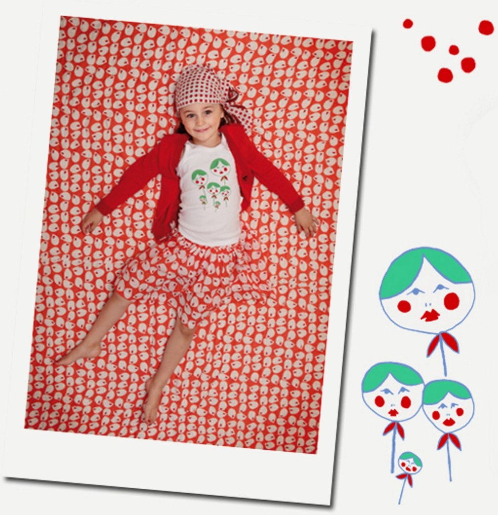 clara de launches spring summer 2012 children s clothing collection featuring