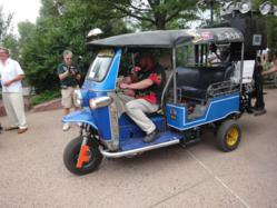 Gasified Tuk Tuk. (C) Denver Zoo
