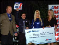 Mikey Martin Accepting 2011 Year-End Points Fund