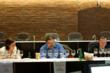 Judges panel in action at 2012 Ultimate Spirits Challenge – Julie Reiner, David Wondrich, Andy Seymour (L to R)