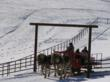 Off-mountain winter activities abound in Steamboat Springs, Colorado