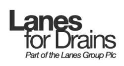 Lanes for Drains Logo