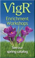 Friends Life Care VigR Enrichment Workshops are part of their unique long term care protection program