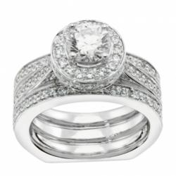man made diamond simulants, affordable engagement ring