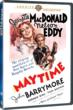 Movies Unlimited is Pleased to Bring Musical Superstars Jeanette MacDonald and Nelson Eddy Home Again in Maytime, Another Exclusive DVD Release from the MGM Library.