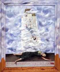El Suicidio de Dorothy Hale, Frida Kahlo