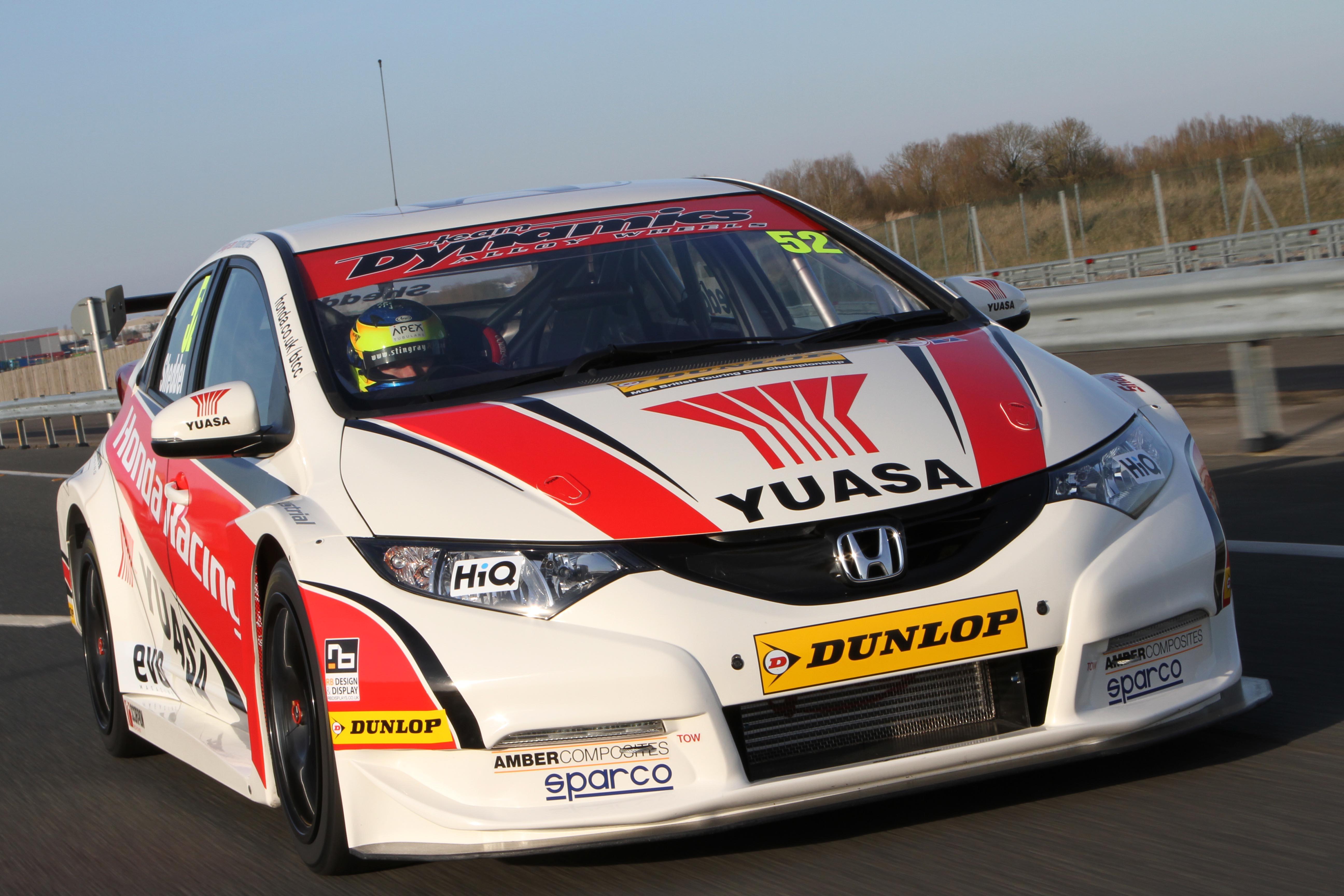 2015 Honda Civic For Sale >> Honda Yuasa Racing Team Chooses Amber Composites Prepreg