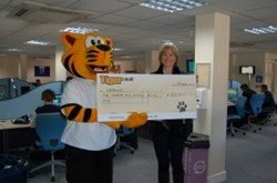 Tiger.co.uk Raises Funds For Local Charity