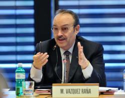 Resignation of Mario Vázquez Raña