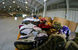 Junk removal company 1-800-GOT-JUNK? is teaming up with Soles4Souls for their spring charity shoe drive