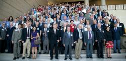 Hundreds of affiliates and other well-wishers attended the 25th anniversary celebration at CREOL, the College of Optics and Photonics, University of Central Florida