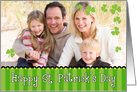 St. Patricks Day Photo Card