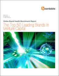 Benchmark report cover: The Top 50 Leading Venture Capital Brands