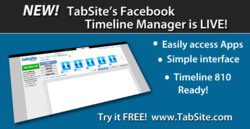 TabSite Launches new Facebook Timeline App Builder