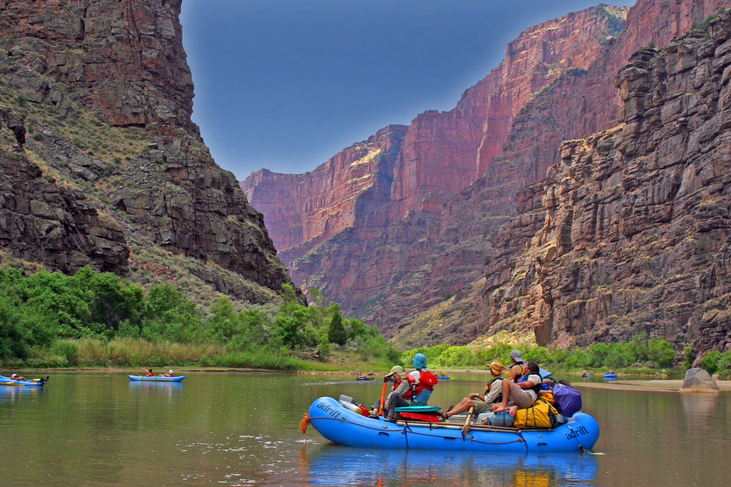 Whitewater Rafting Tour Explores Historic Waters Of The