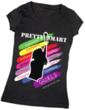 Example: Pretty $mart G.U.R.L.S. t-shirt