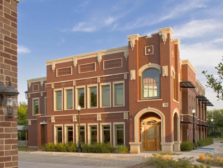 Lewisville Peck Doctors Office Modern Brick Buildings