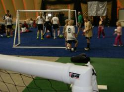 iGoal inflatable soccer goals.