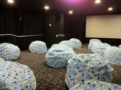 cinema fit-out bean bag cinema