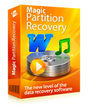Magic Partition Recovery can repair damaged disk system structures and fix corrupted file systems