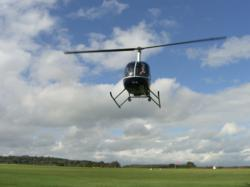 A memorable helicopter ride