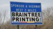 Braintree Printing Signs on with MA Department of Transportation's...