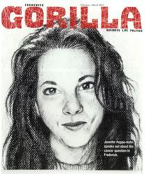 Frederick Gorilla magazine cover