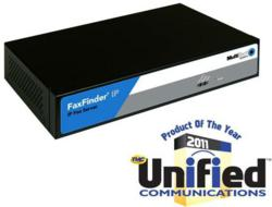Multi-Tech FaxFinder IP Fax Server Receives TMC Product of the Year Award