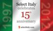 Select Italy 15th anniversary sticker