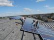 Normandin Middle School - the Solar Rooftop installation by Beaumonth Solar Company