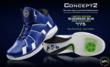 Increase Your Vertical Leap in APL Concept 2 Basketball Shoes In Bluegrass Blue