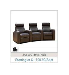 Theater Seat Store Product Thumbnail of Jaymar Panther