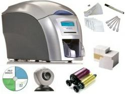 Magicard's Enduro ID Printer System includes photo ID software, ribbon, 300 cards, web cam & cleaning kit!