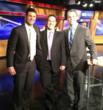 """ePawnMarket.com an Online Pawn Shop and Georgia Title Pawn Loan Company co-founders posing with """"Newswatch"""" Host Ben Hoover for a picture."""