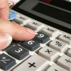 Accountant Calculator Budget