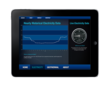 This iPad app shows real-time energy data for QA Graphics' office building. It's an example of QA Graphics' custom mobile app development services.