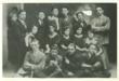 Leon Ginsburg's parents' drama club in 1920s Maciejow