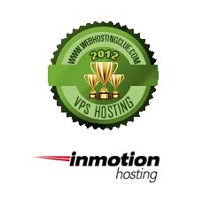 2012 Best VPS Hosting InmotionHosting