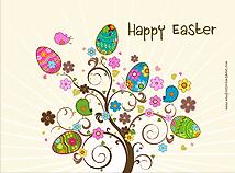 Easter screensaver